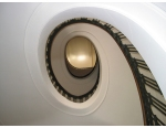 Image of Health Sciences Library spiral staircase